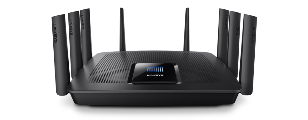 Linksys MAX-STREAM AC5400 MU-MIMO Gigabit Wi-Fi Router (EA9500S)